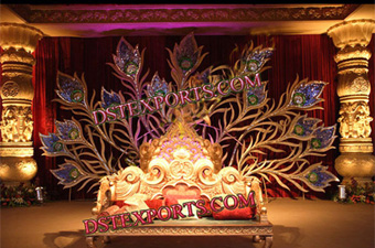 Sri Lankaen Wedding Decorated Stage Set