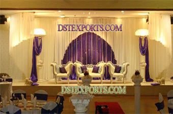 Beautiful Asian Wedding Stage With Furniture