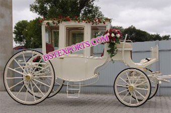 New Horse Drawn Air Conditioner Carriage