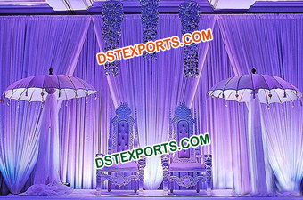 Pakistani Muslim Wedding Stage