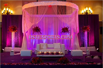 New Design Cheap Wedding Crystal Mandap