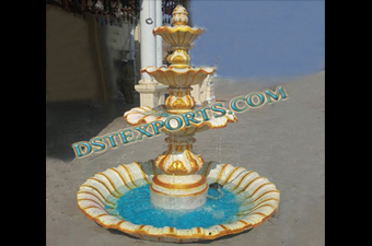 Wedding Beautiful Decorated Fiber Fountain