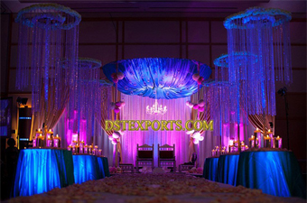 Latest Wedding Hanging Crystal Decoration