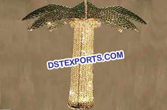 Wedding Coconut Tree Crystal Hanging
