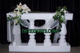 Wedding Decoration balconies