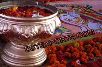 Indian Wedding Decorated Pot