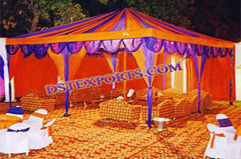 Indian Wedding Gazebo Stage Decoration
