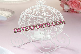 Wedding Decorated Cinderella Carriage Table Decors