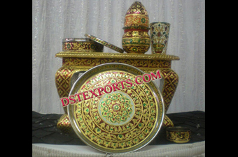 Indian Wedding Meenakari Items