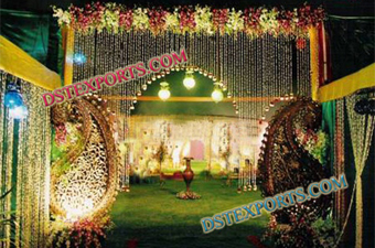 Wedding Gate Entrance Fiber Mango Decoration