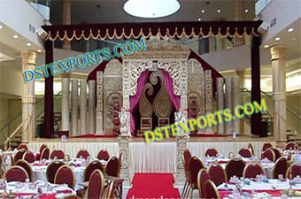 Wedding Beautiful Decrated Stage Set