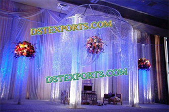Newly Wedding Hanging Crystal Mandap