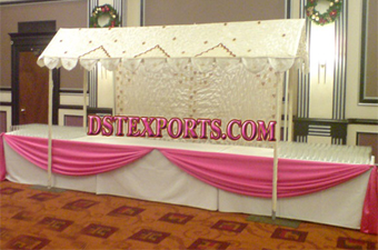 Indian Wedding Theme Decor Of Food Stall