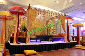 Muslim Wedding Function Stage Set