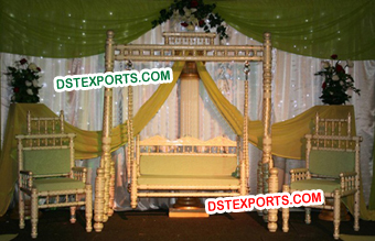 Latest Wedding Swing Stage Set