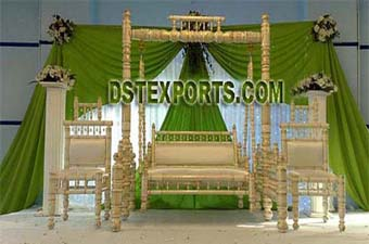 Wedding Pearl Swing Stage Decorations