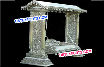 Wedding Beautiful Silver Metal Jhula