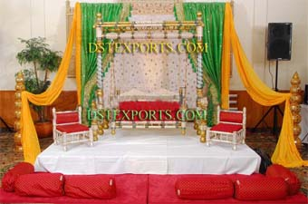 Indian Wedding Meenakari Swing