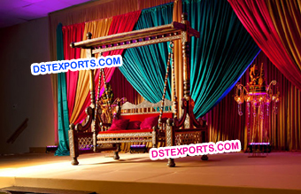 Indian Wedding Royal Stage Swing