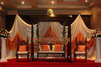 Antique Rajwadi Swing Set For Wedding