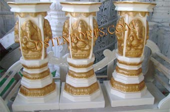 Wedding Small Ganesha Dev Pillars