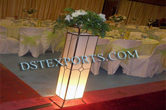 Wedding Led Lighted Aisle Pillar