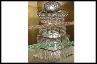 Wedding Crystal Cake Stand With Ball