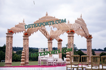 Indian Wedding Temple Fiber Mandap