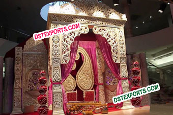 Asian Wedding Royal Decorated Stage