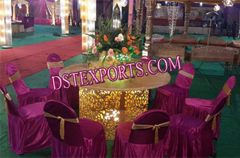 Indian Wedding Night Lighted Table