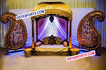 Asian Wedding Jodha Akbar Stage