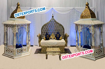 Royal Wedding Jodha Akbar Stage Set