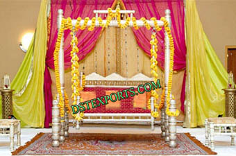Wedding Sankheda Decorated Jhula