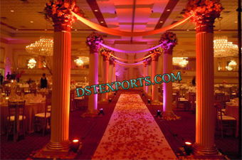 Fiber Roman Pillars For Wedding Gate