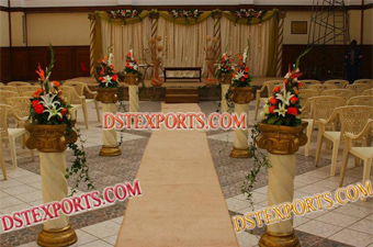 Wedding New Style Walkway Pillars