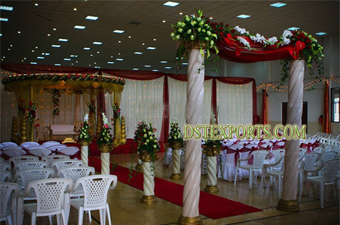 Latest Wedding Fiber Pillars For Wedding Gate
