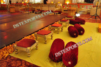 Wedding Mehndi Stage Stools For Decoration