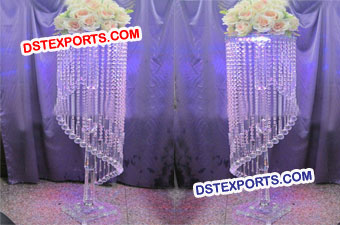 Latest Wedding Crystal  Pillar