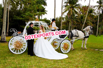 Cinderella Stylish Horse Carriage
