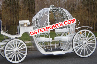 Sweet Cinderella Horse Carriage