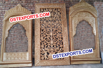 Muslim Wedding Stage Set Fiber Backdrop Panels