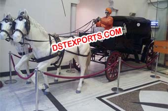 Horse Baghi For Indian Wedding Decoration