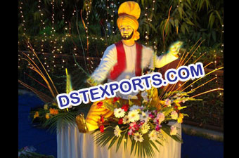 Statue For Punjabi Wedding Entrance Decoation