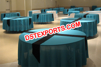 Banquet Table Clothes For Wedding Hall