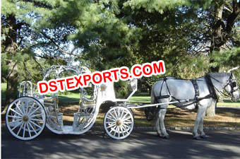 New Wedding Cinderella Horse Carriage
