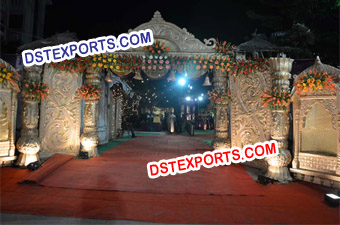 Wedding Royal Fiber Welcome Gate