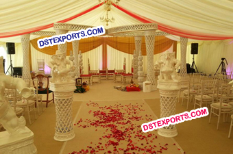 Dream Wedding Butterfly Crystal Mandap Set