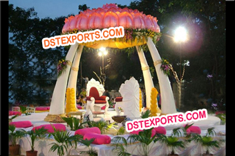 Indian Wedding Fiber Trunk Mandap
