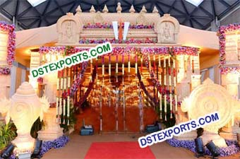 Gujrati Wedding Fiber Welcome Gate