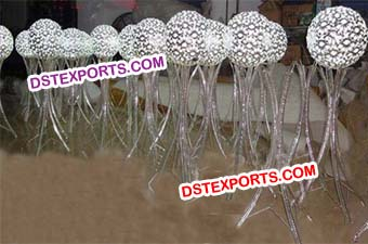 Wedding Crystal Ball Stands For Decoration